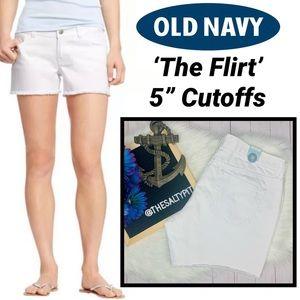 Just In! NWT Old Navy 'Flirt' Denim Cutoffs, Sz 10